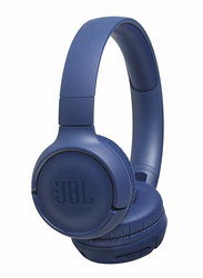 JBL Tune 500BT Wireless On-Ear Headphones, Blue