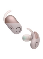 Sony WF-SP700N Bluetooth In-Ear Noise Cancelling Headphones, Pink