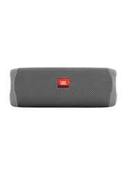 JBL Flip 5 Water Resistant Portable Speaker, Grey