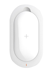 Mipow 5000mAh Qi SPX07S Fast Charging Power Bank Portable Charger, White