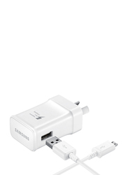 Samsung Travel Adapter, with 15W USB Type-C Fast Charger, White