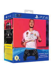 FIFA 20 with DS4 Controller for PlayStation 4 (PS4) by Electronic Arts