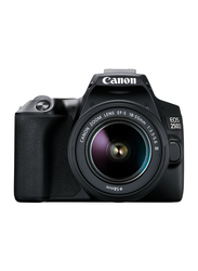 Canon EOS 250D DSLR Camera with EF-S 18-55mm f/3.5-5.6 III Lens, 24.1MP, 4K, Black