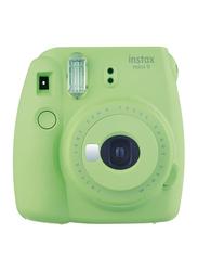 Fujifilm Instax Mini 9 Instant Film Camera with 60mm f/12.7 Lens, Green