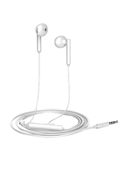 Huawei AM-115 In-Ear Headphones, with Mic, White