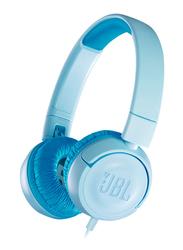 JBL JR300 Kids 3.5 mm Jack On-Ear Headphones, Blue