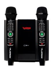 Platinum Cello Karaoke, with 2 Wireless Mics, Black