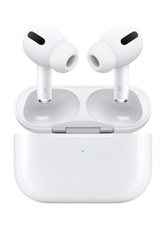 Apple AirPods Pro Wireless In-Ear Noise Cancelling Headphones, with Mic, White