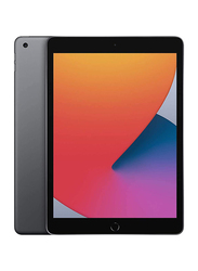Apple iPad 8th Gen 2020 128GB Space Gray 10.2 inch Tablet, Without FaceTime, 4GB RAM, Wi-Fi Only