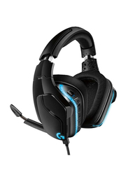 Logitech G635 Over-Ear 7.1 Surround Sound Light SYNC Gaming Headset, with Mic, Black