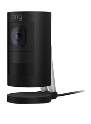 Ring Indoor Stick Up Wired Surveillance Camera, 1080p, Full HD, Black