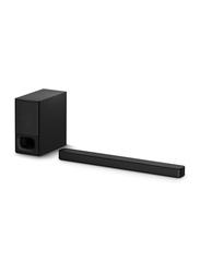 Sony HTS350 2.1Ch Wireless Soundbar with Powerful Wireless Subwoofer and Bluetooth Technology, 320W, Black