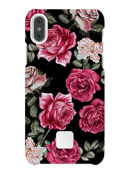 Happy Plugs Apple iPhone X Carbon Fiber Protective Mobile Phone Case Cover, Vintage Roses