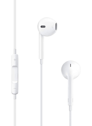 Apple EarPods 3.5 mm Jack In-Ear Headphones, White