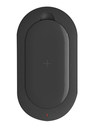 Mipow 5000mAh Qi SPX07S Fast Charging Power Bank Portable Charger, Black