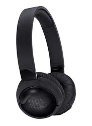 JBL T600BT Wireless On-Ear Active Noise Cancelling Headphones, Black