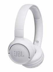 JBL Tune 500BT Wireless On-Ear Headphones, White