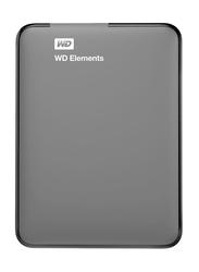 Western Digital 2TB HDD Elements External Portable Hard Drive, USB 3.0, WDBU6Y0020BBK-WESN, Grey