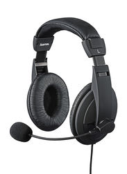 Hama Insomnia Coal On-Ear Headset with Mic for PlayStation PS4 /Slim/Pro, Black