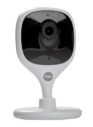 Yale Indoor Surveillance Camera, 1800p, Full HD & WiFi, White