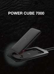 Mipow 7000mAh SPT08-GR Power Cube Power Bank, Black