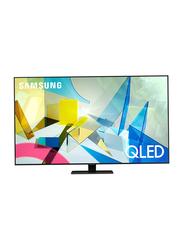 Samsung 55-inch Class QLED 4K Ultra HD HDR Smart TV (2020), Q80T, Black