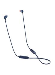 JBL Tune T115BT Wireless In-Ear Headphones, Blue