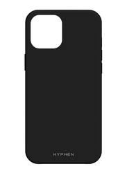 Hyphen Apple iPhone 12 6.1-inch Silicone Mobile Phone Case Cover, Black