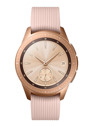 Samsung Galaxy R810 - 42mm Smartwatch, 1.2 inch Display, GPS/Bluetooth/Wi-Fi, Rose Gold Case with Pink Band