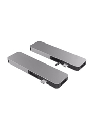 HyperDrive Solo 7-in-1 USB-C Hub for MacBook/PC/Chromebook/Android, Grey