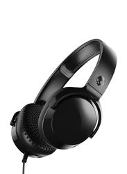 Skullcandy Riff 3.5 mm Jack On-Ear Headphones with Mic, Black