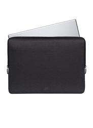 Rivacase Suzuka 15.6-inch Sleeve Laptop Bag, Water Resistance, Black
