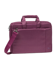 Rivacase Central 15.6-inch Shoulder Laptop Bag, Purple
