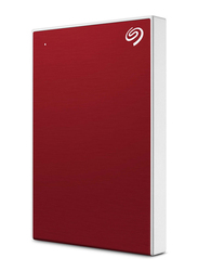 Seagate 5TB HDD Backup Plus External Portable Hard Drive, USB 3.0, STHP5000403, Red