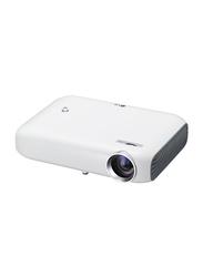 LG Minibeam PW1000G LED Wireless Portable Projector, 1000 Lumens, White