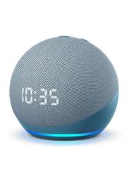Amazon Echo Dot 4th Gen Smart Speaker with Clock and Alexa, Blue