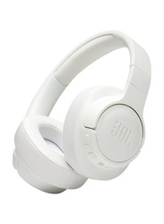 JBL Tune 750BTNC Wireless On-Ear Noise Canceling Headphones with Mic, White