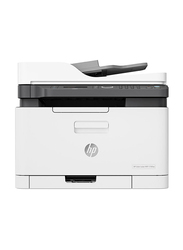 HP Color Laser MFP 179FNW 4ZB97A All-in-One Printer, White