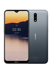 Nokia 2.3 32GB Charcoal, 2GB RAM, 4G LTE, Dual Sim Smartphone