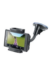 Cellular Line Big Crab Dualfix Car Mount for Smartphones, Black