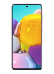 Samsung Galaxy A71 128GB Haze Crush Silver, 8GB RAM, 4G LTE, Dual Sim Smartphone