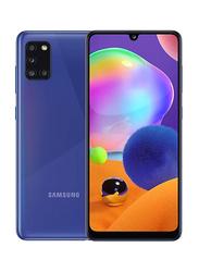 Samsung Galaxy A31 128GB Prism Crush Blue, 4GB RAM, 4G LTE, Dual Sim Smartphone