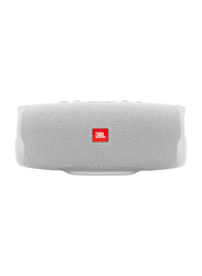 JBL Charge 4 Water Resistant Portable Bluetooth Speaker, White