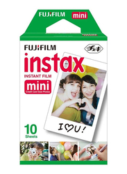 Fujifilm Instax Mini Film Sheet, 2 x 10 Sheets, White