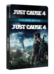 Just Cause 4 Steel Book Edition for PlayStation 4 (PS4) by Square Enix