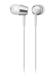 Sony EX Series 3.5 mm Jack In-Ear Headphones, White