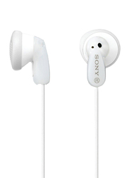 Sony MDRE9 In-Ear Fashion Earbuds, White