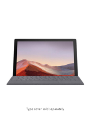 Microsoft Surface Pro 7 2-in-1 Laptop, 12.3 inch Touch Display, Intel Core i5-1035G4 10th Gen 1.1GHz, 128GB SSD, 8GB RAM, Intel Iris Plus Graphics, EN KB with Cover & Pen, Win 10, Platinum