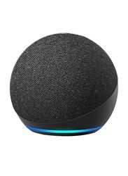 Amazon Echo (4th Generation) Smart Speaker with Alexa, Charcoal Black