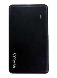 Inet 5000mAh Slim N Light Power Bank with Micro-USB Input, Black